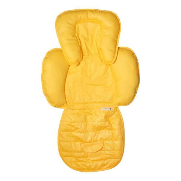 redutor de bebe conforto amarelo