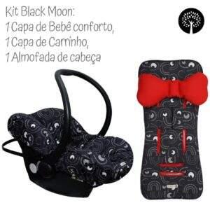 kit black moon enxoval